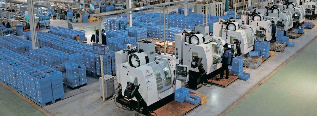 Фабрика HUIDA фото производства