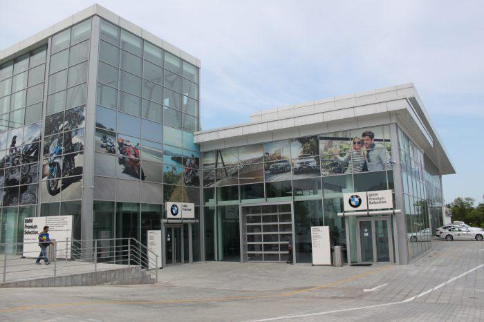 Фитнес-центр BMW