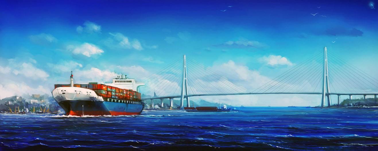 Порт Владивосток контейнеры из китая, гонконга, гуначжоу