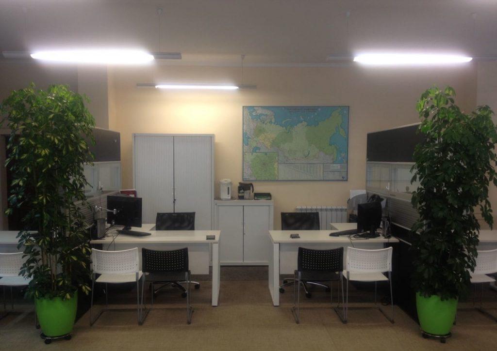 Рабочие места для коворкинга в офисе